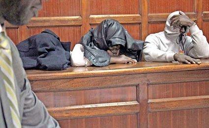 Wesley Kiptanui Kipkemoi, Shemgrant Agyei and Robin Bundi Nyangaresi
