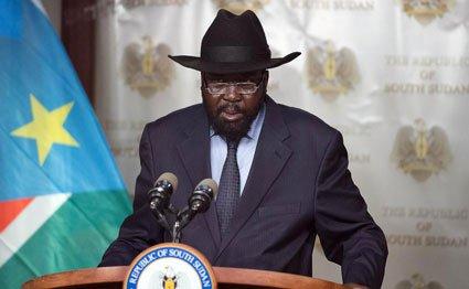 South Sudanese President Salva Kiir. AFP