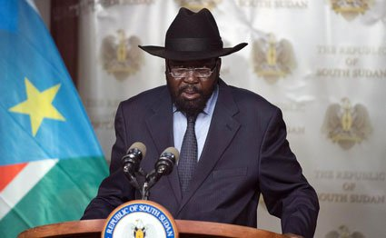 South Sudanese President Salva Kiir. AFP