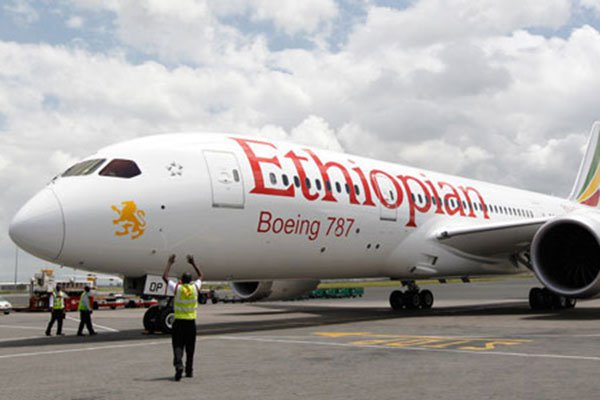 An Ethiopian Airlines plane. FILE| NATION