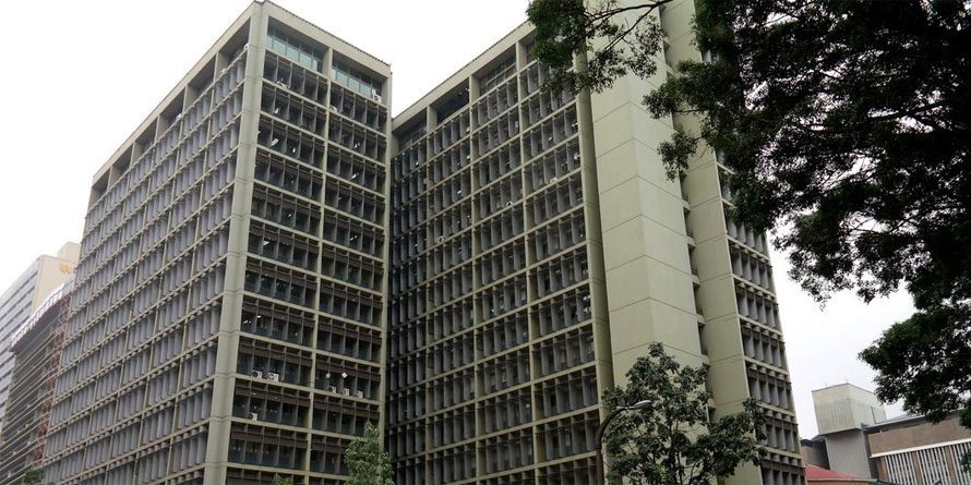 The National Treasury building in Nairobi. FILE PHOTO | NMG