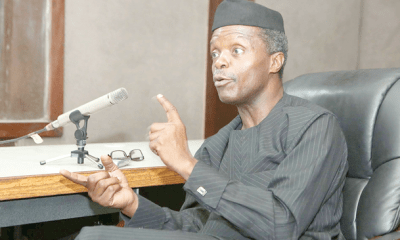 Osinbajo: How we reclaimed four guber seats from PDP