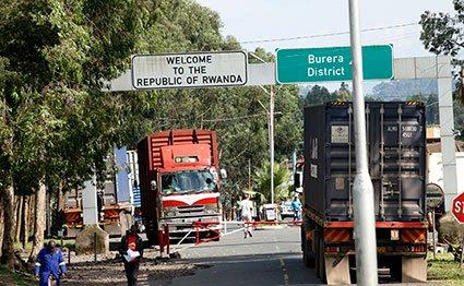Cyanika border post