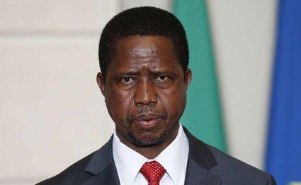 Zambian President Edgar Lungu.