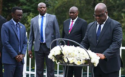 Congolese President Felix Tshisekedi