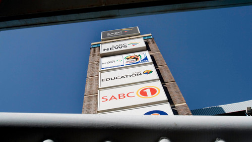 SABC - South African Broadcasting Corporation Offices Auckland Park. Thursday , 09 July 2009 08 July 2009 . (Delwyn Verasamy, M&G)