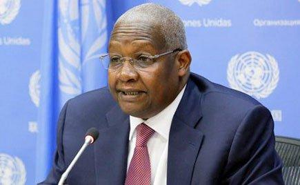 Uganda's foreign affair minister Sam Kutesa