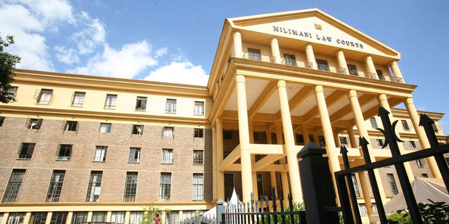 Milimani law courts. FILE PHOTO | NMG