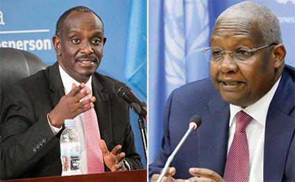 Rwanda and Uganda foreign ministers