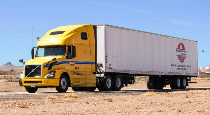 Global Freight Overview – Road Freight