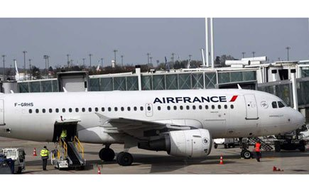 An Air France plane. COURTESY PHOTO