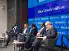 Panelists discuss the prospect of another debt crisis in sub-Saharan Africa.