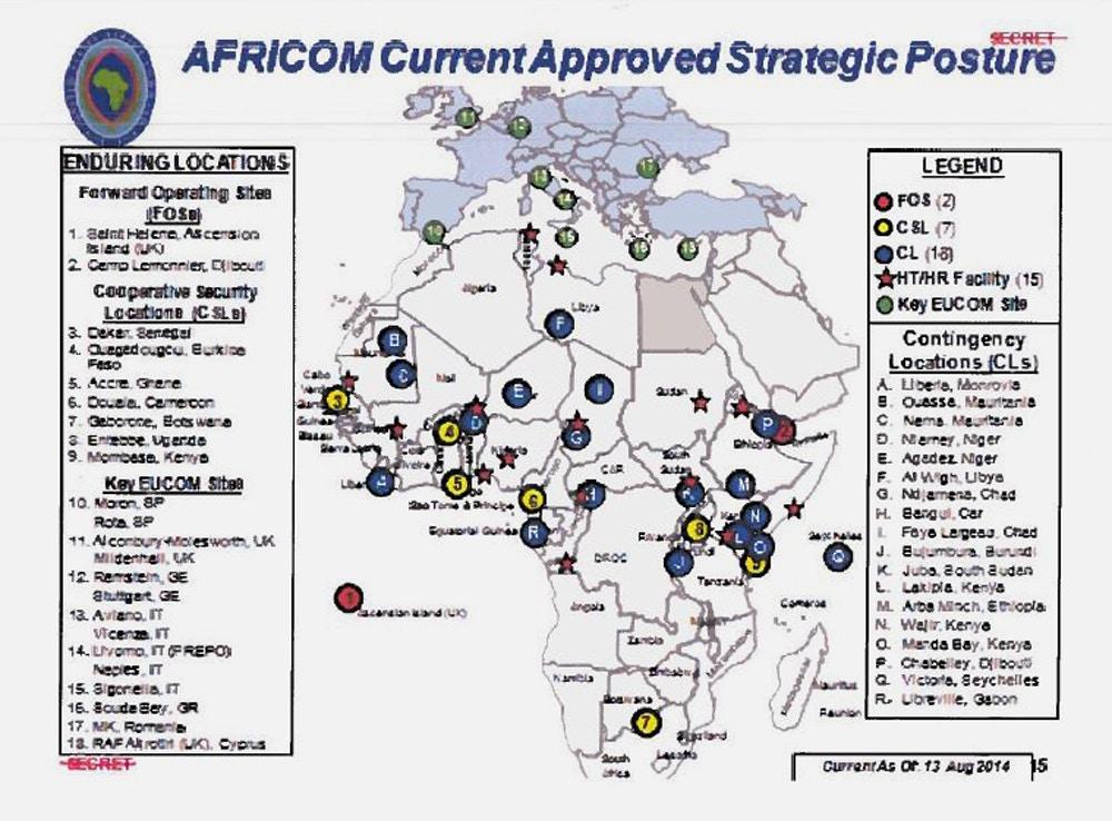 AFRICOM current approved strategic posture