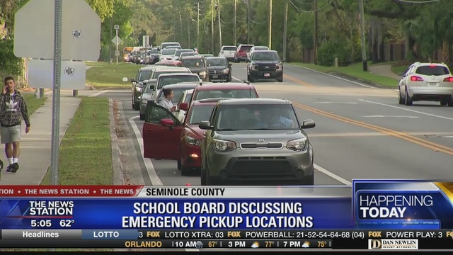 Seminole County schools to discuss new emergency pick-up locations