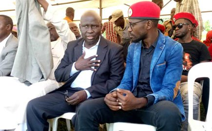 Former Bukhooli Central MP Wafula Oguttu and