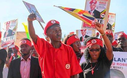 Mr Bryon Luswata, the newly elected Nkumba