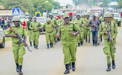 Tanzania police