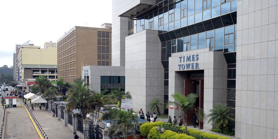 Times Tower. FILE PHOTO | NMG