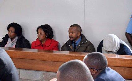From left: Catherine Wanjiku, Agnes Wanjiku,