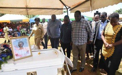 Matungu victims burial