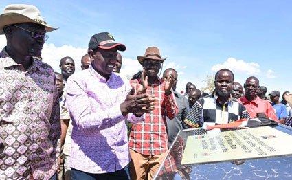 ODM reacts to Ruto-Nanok ties
