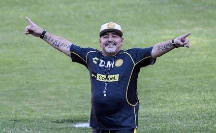 Diego Maradona returns to Argentina for treatment