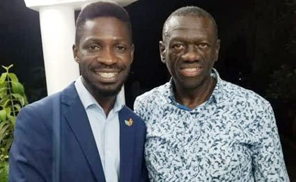 I've not been eclipsed by Bobi Wine- Besigye