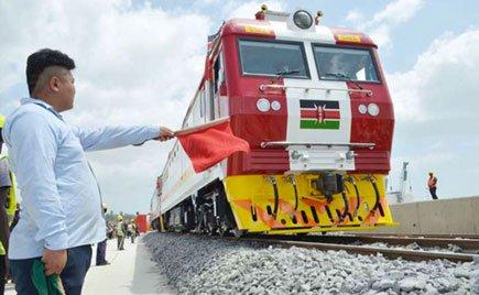 Efforts. The standard gauge railway project in