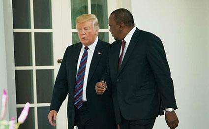 Kenya-US relations up a new level