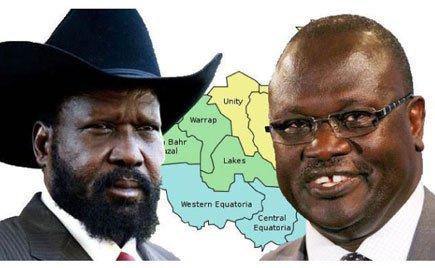 South Sudan's President Salva Kiir's main