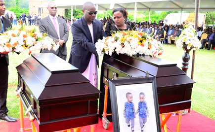 Four people arrested over death of Kibuule's twins released