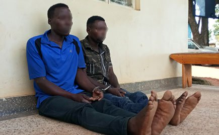 Two Congolese nationals detained in Masaka on armed robbery charges