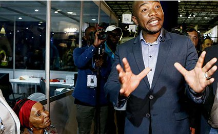 South Africa's opposition party leader under scrutiny