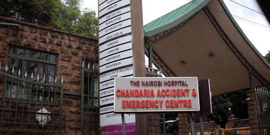 The Nairobi Hospital. FILE PHOTO | NMG