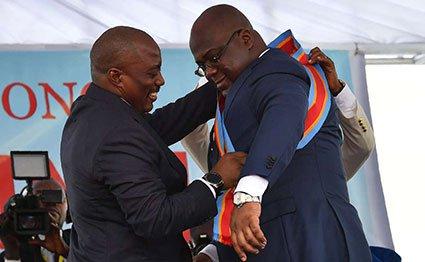 Joseph kabila felix tshisekedi