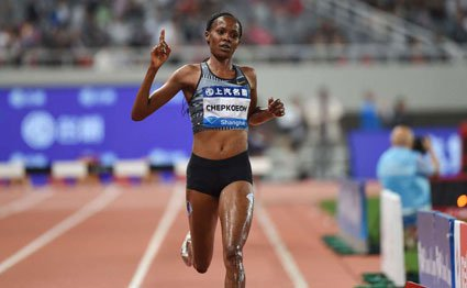 Chepkoech sets new meet record in Kenya 1-2 finish