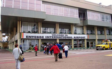 Guests arrive at Entebbe International Airport