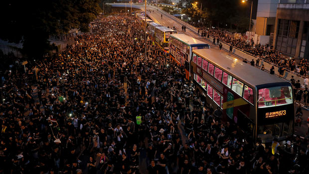 [NATL] Top News Photos: HK Protests Hit 2 Million Demonstrators and More