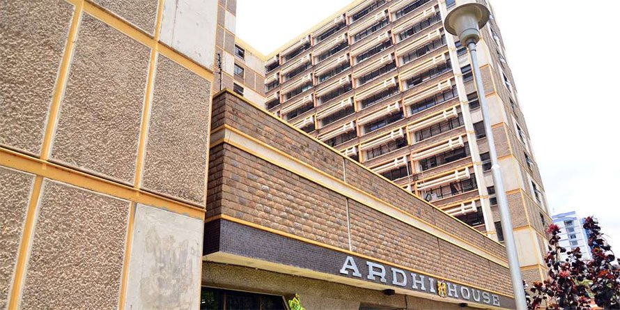 Ardhi House, Ministry of Lands headquarters in Nairobi. FILE PHOTO