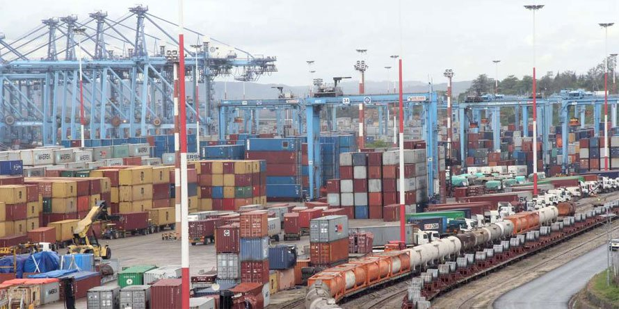 Cargo at the port of Mombasa. FILE PHOTO | NMG