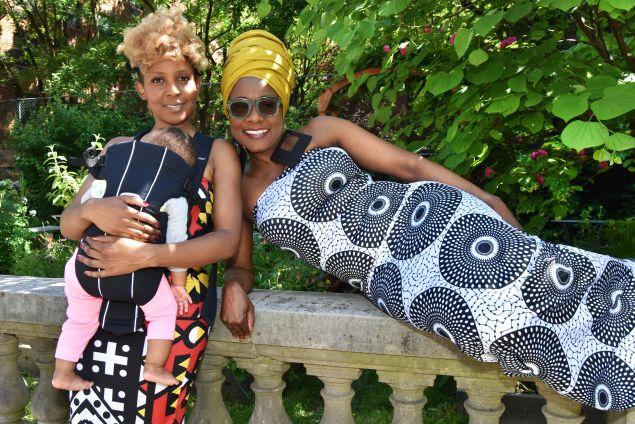 Matipa and Mercy Nyamangwanda, co-founders of EnnYe Collection
