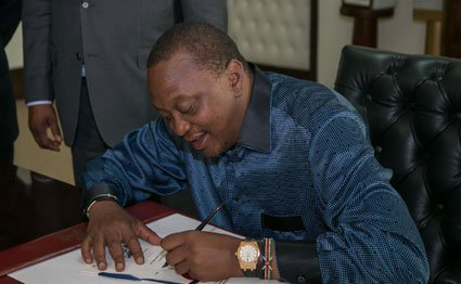 Uhuru signs law to release Sh161bn