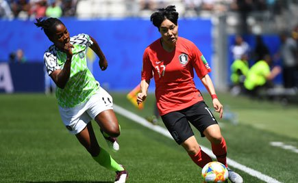 Nigeria eye Women's World Cup knockouts after South Korea win