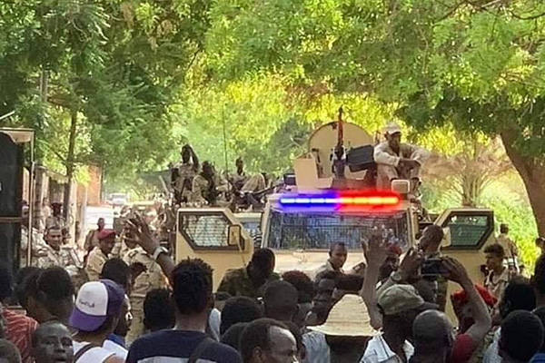 Sudan—a revolt on the brink