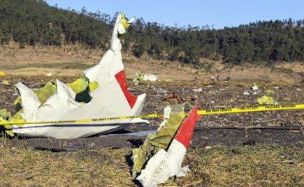 Ethiopian Airlines rejects 'pilot error' claim in US
