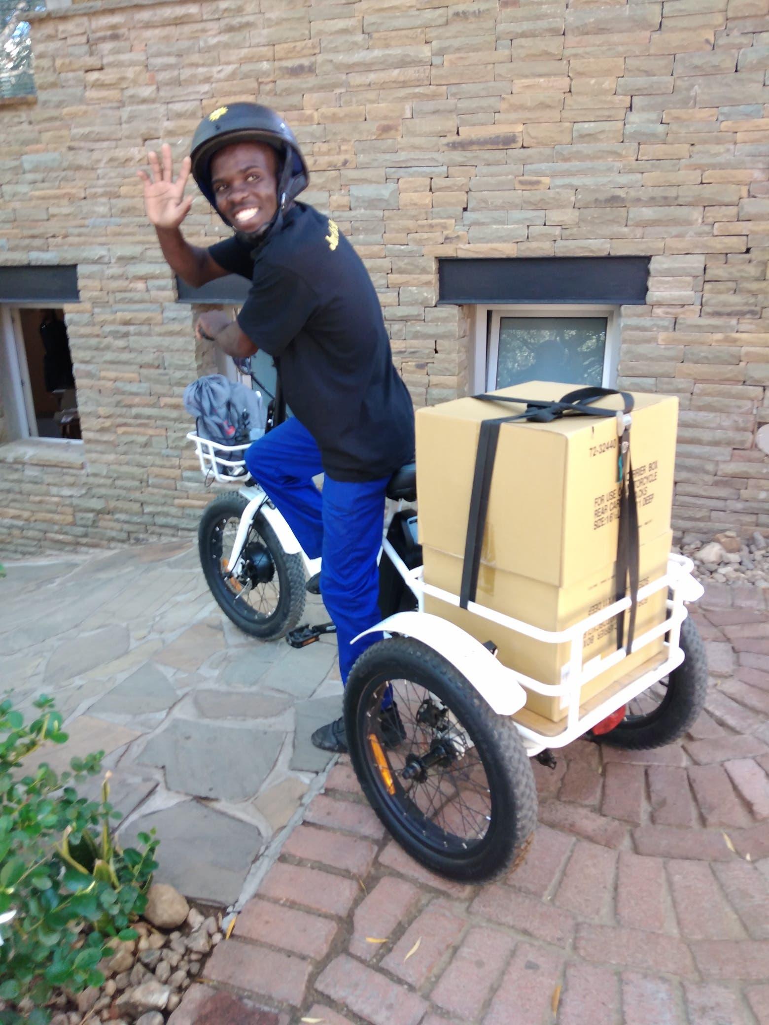 : E-Bikes from E-Bikes4Africa. Images Courtesy of E-Bikes4Africa