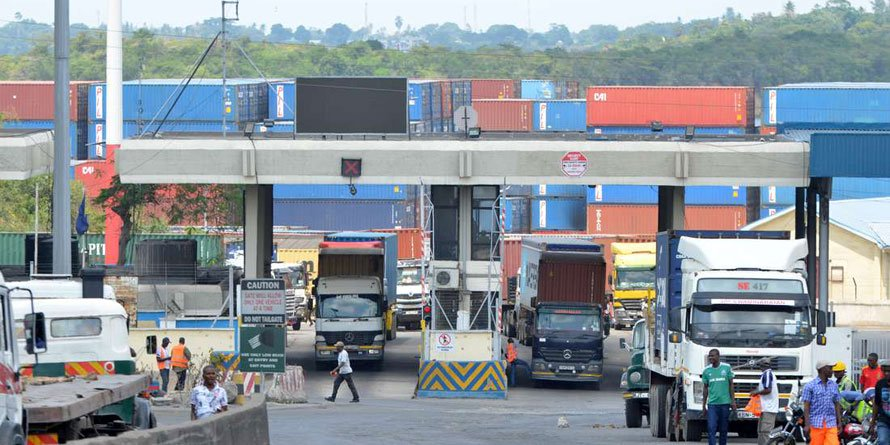 Containers at the port of Mombasa. FILE PHOTO   NMG